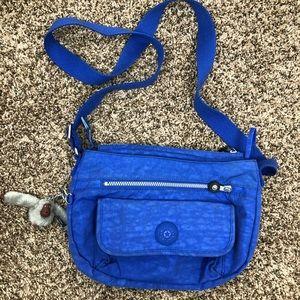 women's Kipling blue side bag !!